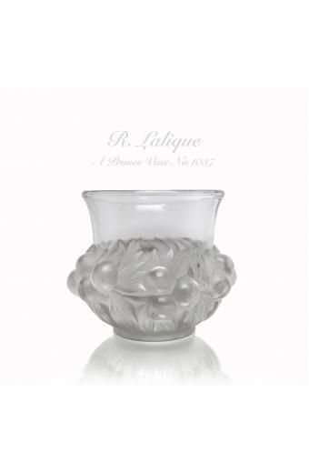 René Lalique, Prunes Vase, C. 1930